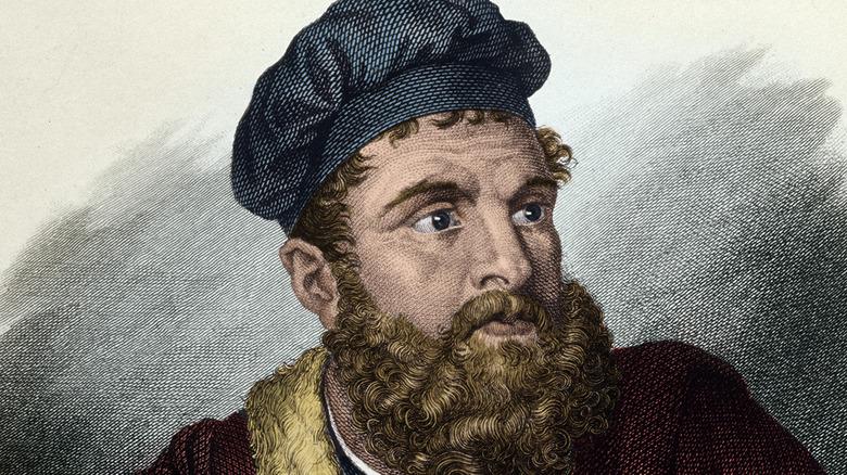 Portrait of Marco Polo