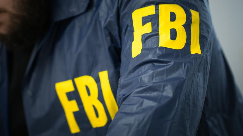 FBI agent at desk