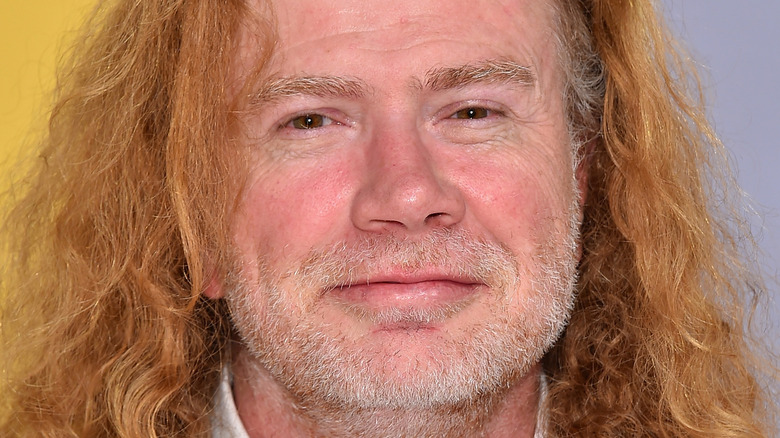 Dave Mustaine close-up