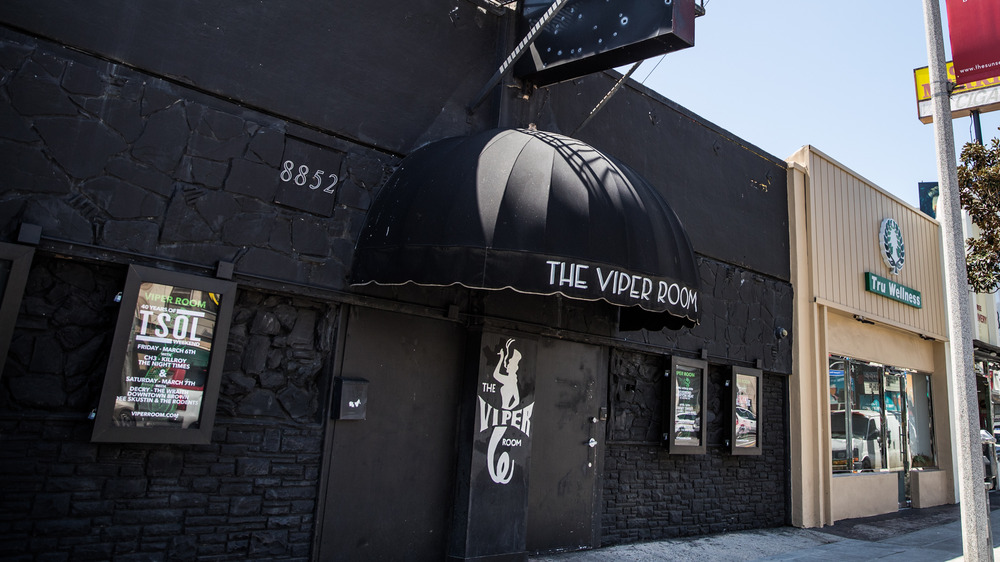 Viper Room door with black awning