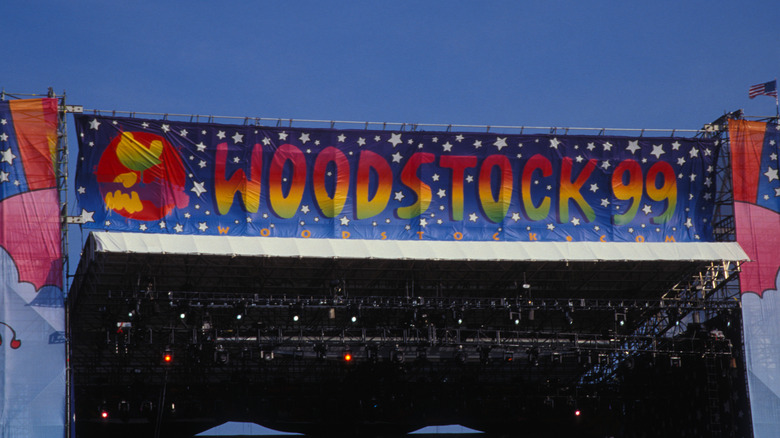 The stage at Woodstock 99