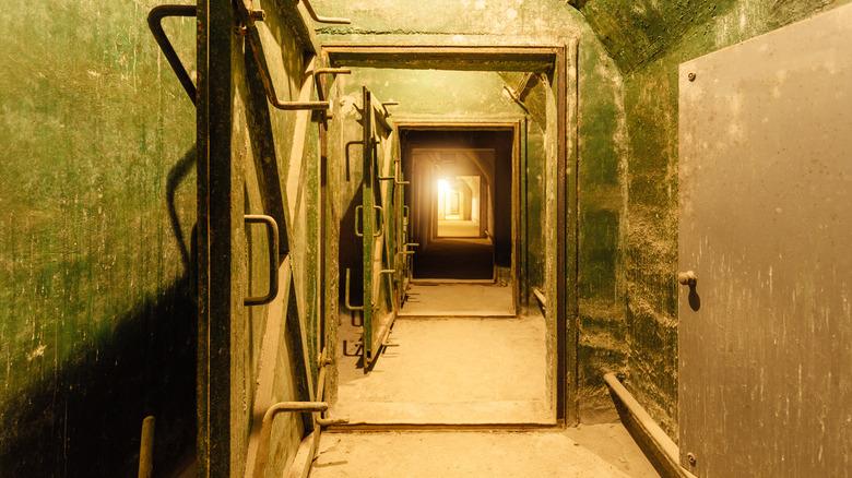 soviet military bunker