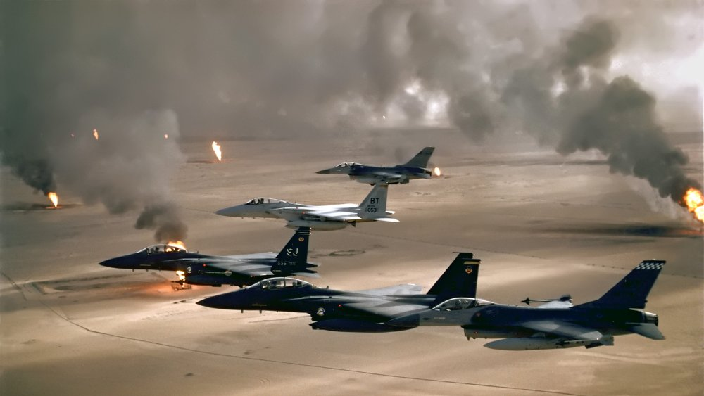 Gulf War Kuwait oil fires