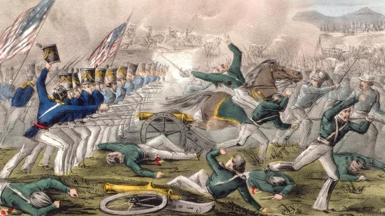 Battle of Churubusco Mexican-American War