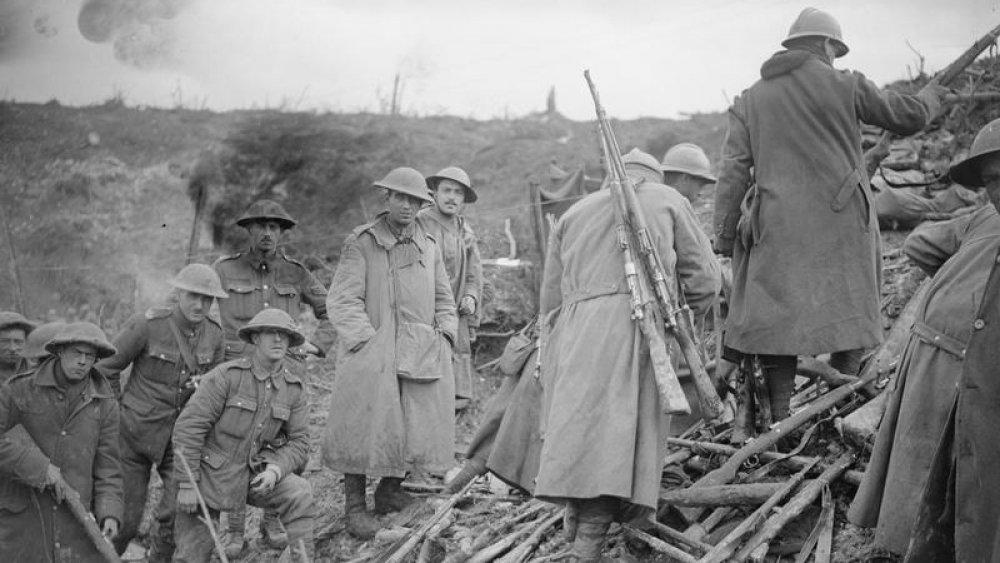 British soldiers World War I