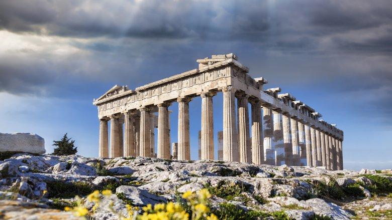 ancient greece parthenon