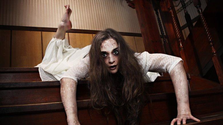 demon possessed girl