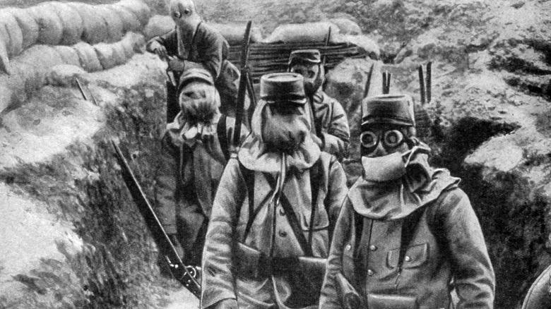World War I gas masks