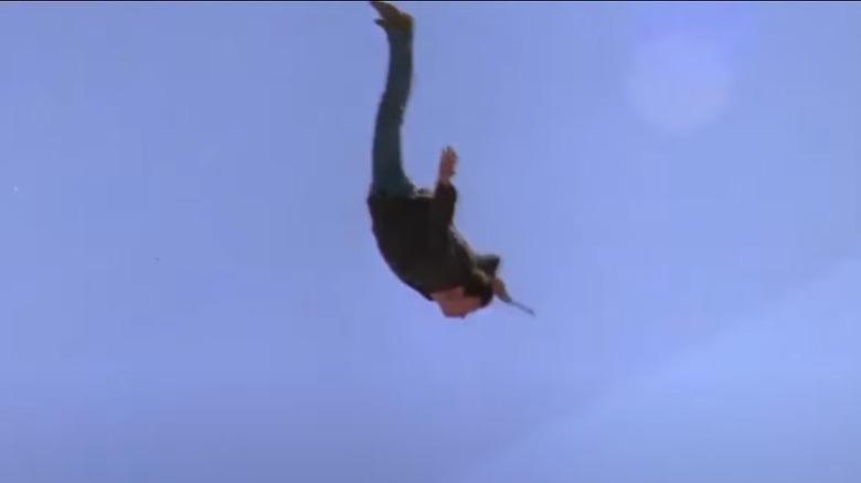 Person falling in Point Break