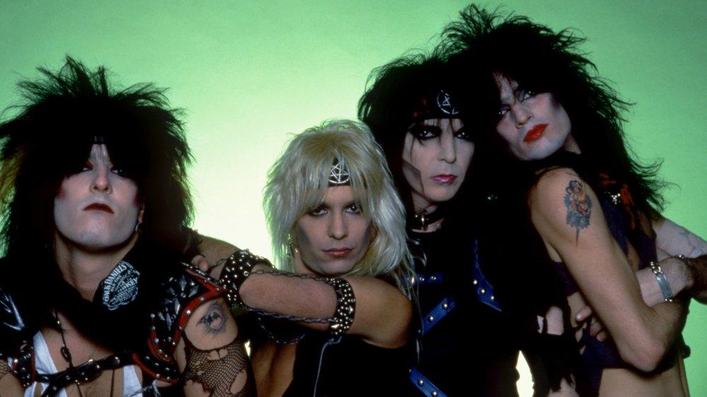 Mötley Crüe in 1984