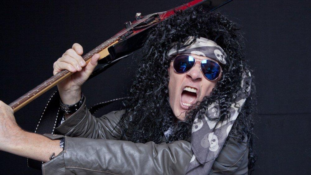 Angry musician