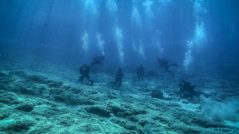 seabed in Athens, Greece