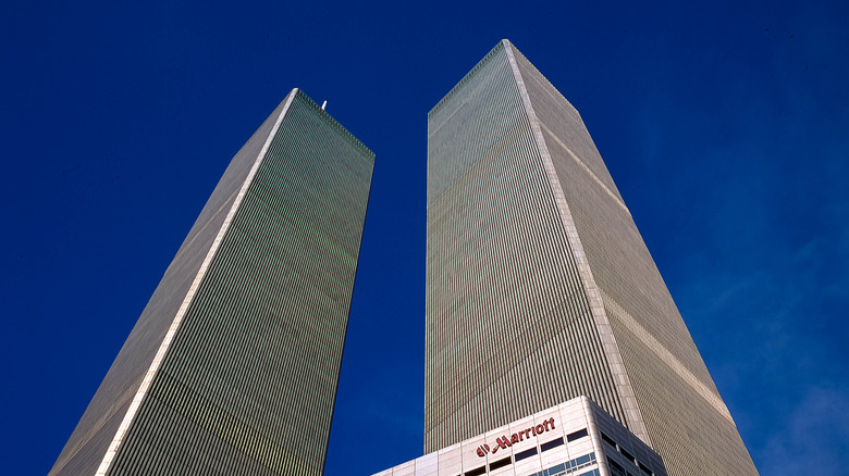 World Trade Center in 2001