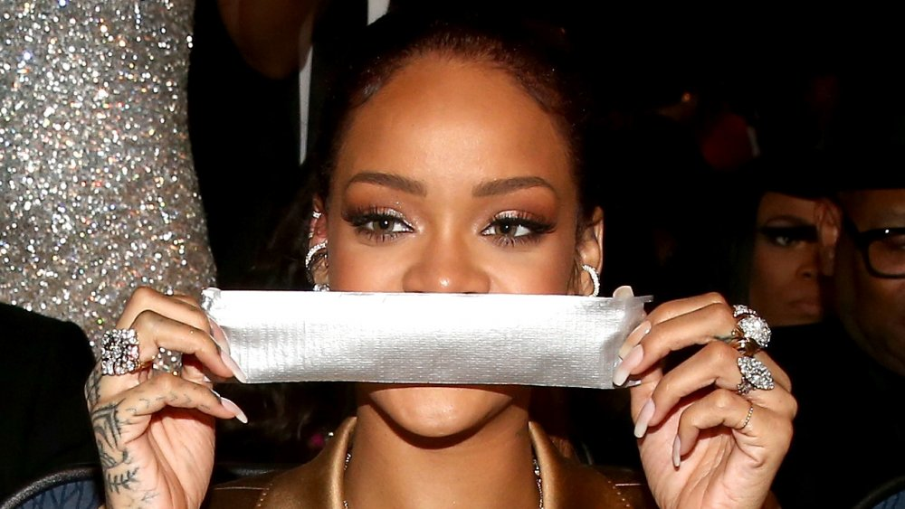 Rihanna and duct tape
