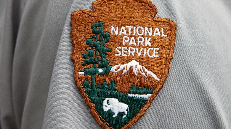 national park service badge