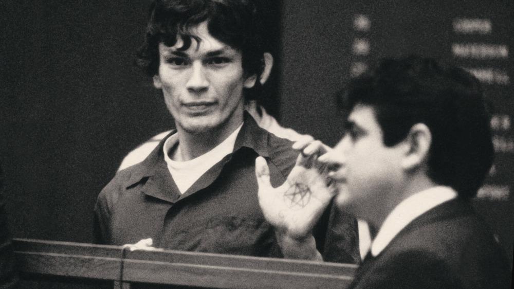 Richard Ramirez in court