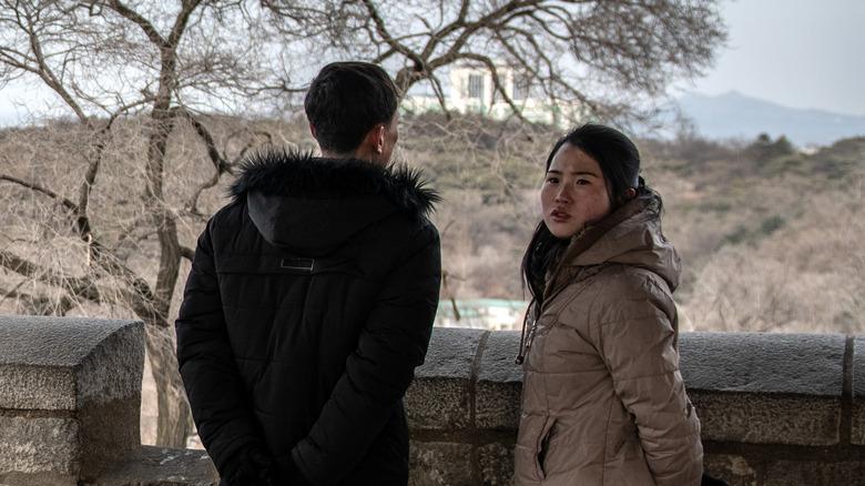 North Korean couple