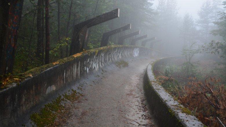sarajevo bobsleigh track