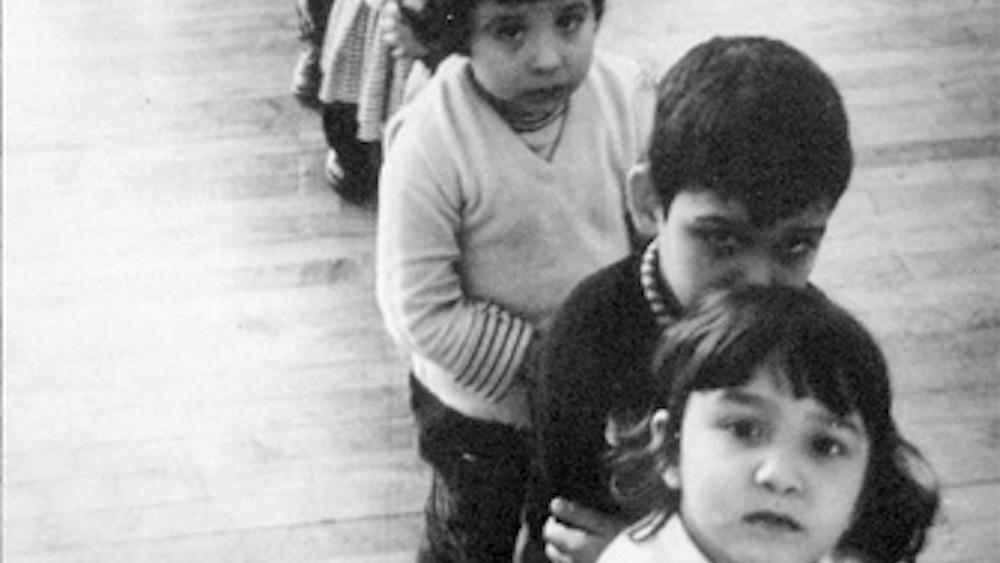 children looking forlorn