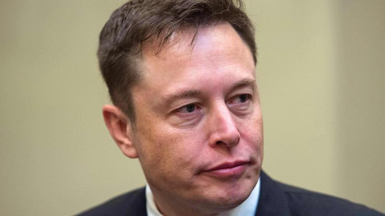 Elon Musk serious