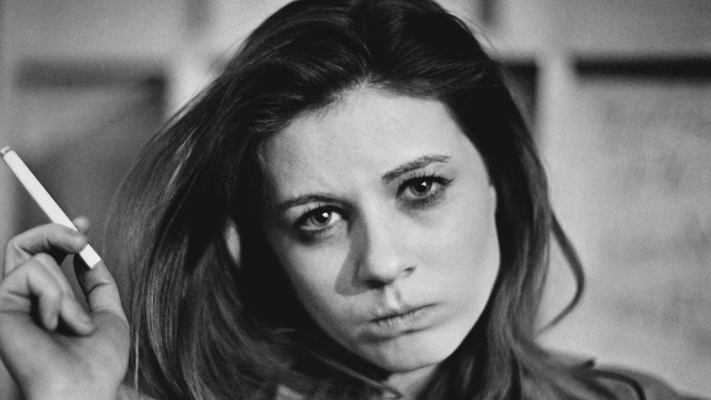 Patty Duke on set of Valley of the Dolls