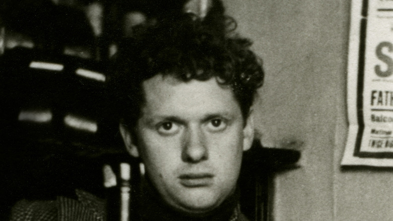 Dylan Thomas as a young man