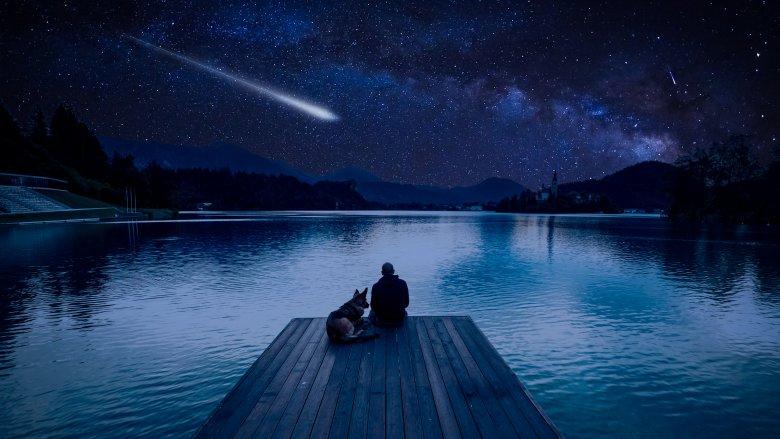 meteorite watching