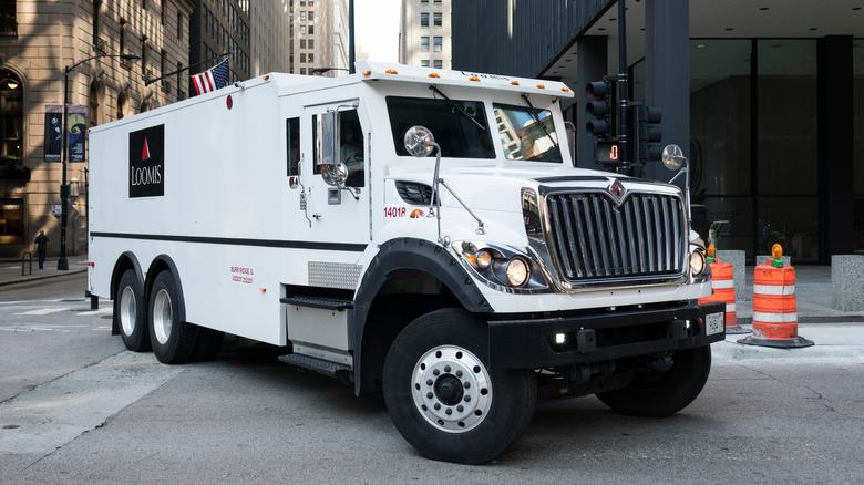 Loomis armored vehicle
