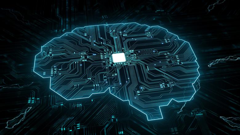 Circuit-board AI brain