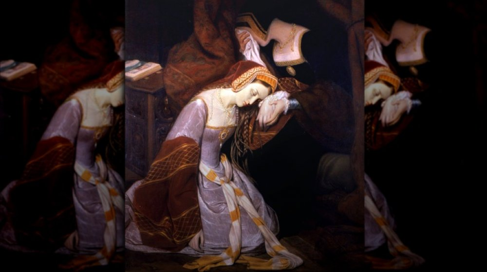 Anne Boleyn in the Tower, royal ghosts of Great Britain