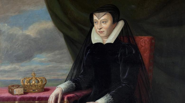 1901 portrait of Catherine de' Medici