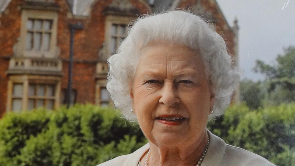 Queen Elizabeth II at Sandringham