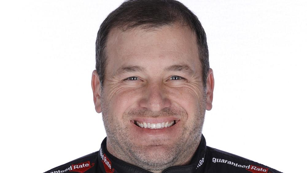 Race car driver Ryan Newman