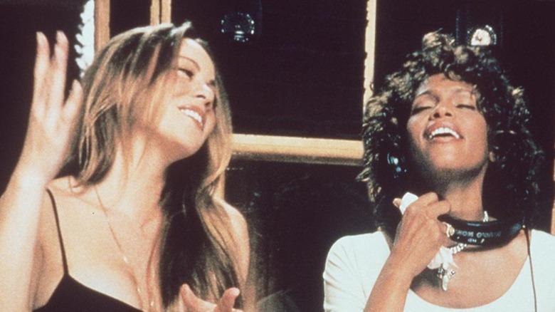 Mariah Carey and Whitney Houston
