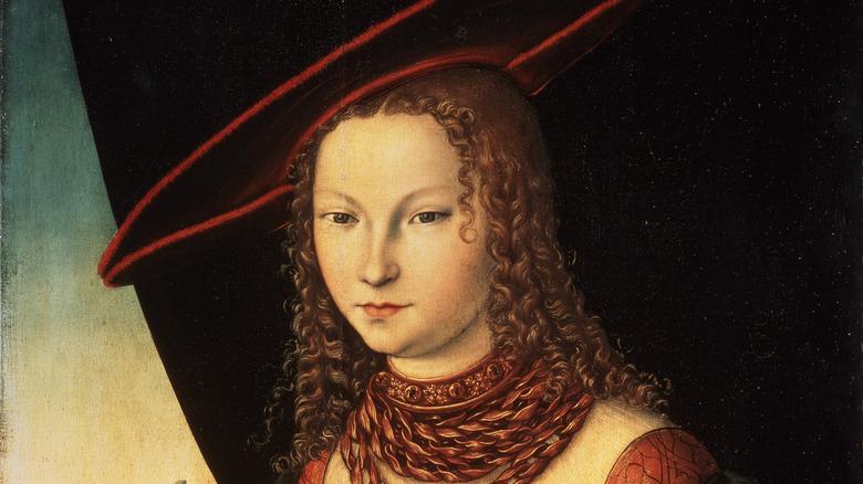Sybille, Princess of Cleves Lucas Cranach the Elder
