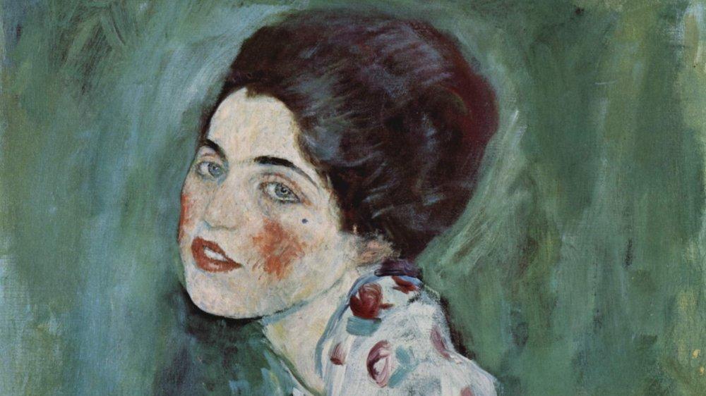 "Gustav Klimt's ""Portrait of a Lady"""