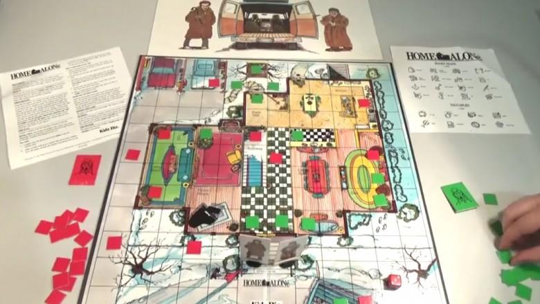 home alone board game