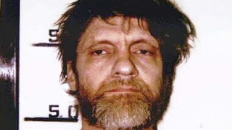 Ted Kaczynski mugshot