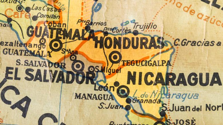 Honduras and El Salvador