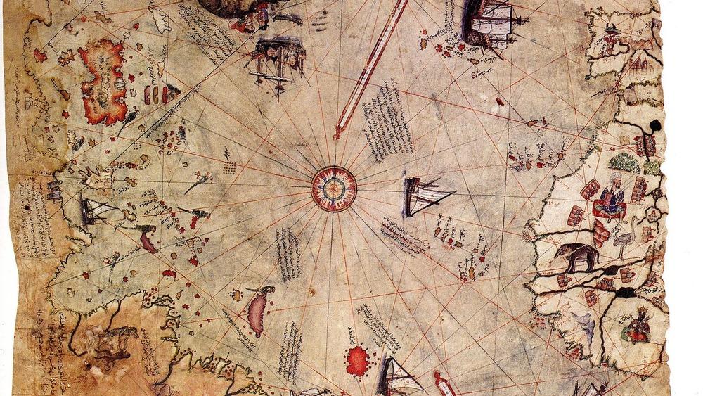 Piri Reis map