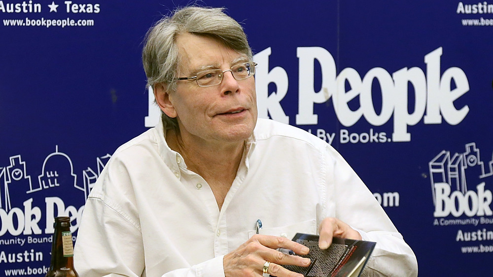Stephen King book signing