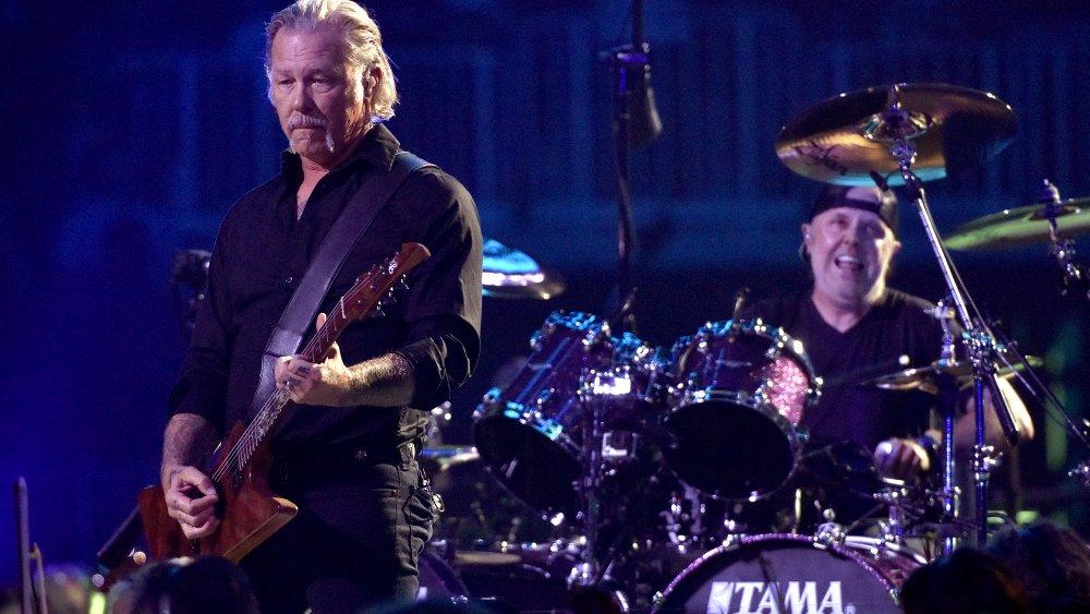 James Hatfield and Lars Ulrich of Metallica