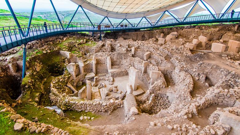 Gobekli Tepe in modern-day Turkey