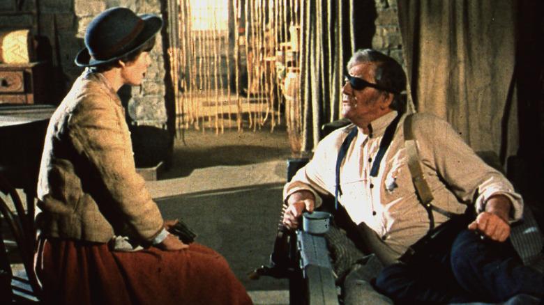 """Kim Darby, John Wayne in """"True Grit"""""""