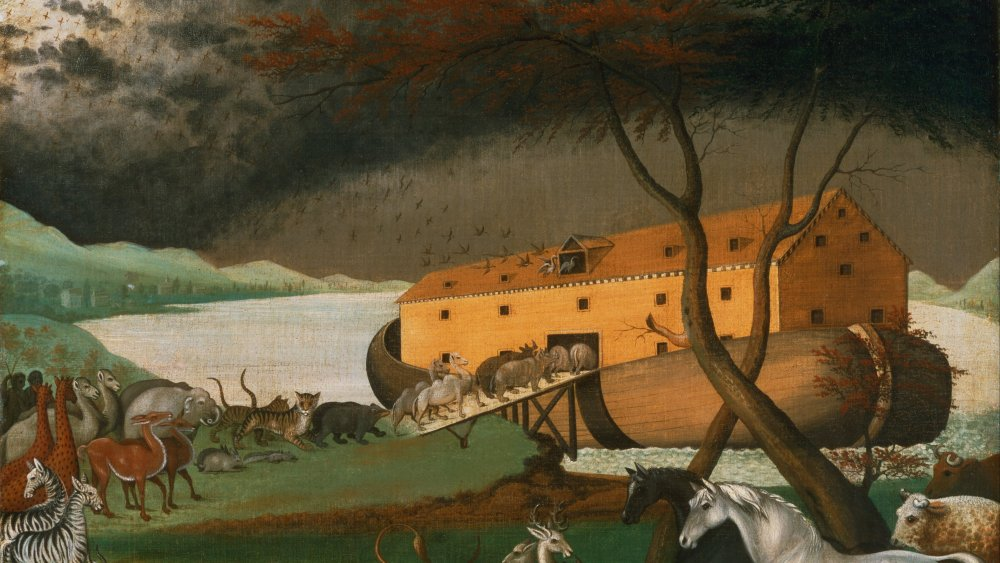 Edward Hick's 1846 painting Noah's Ark