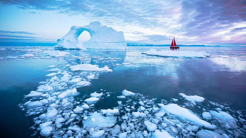 Ice near North Pole