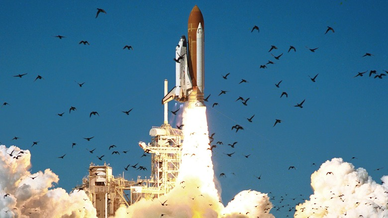 Space Shuttle Challenger launch