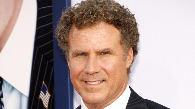 Will Ferrell smiling