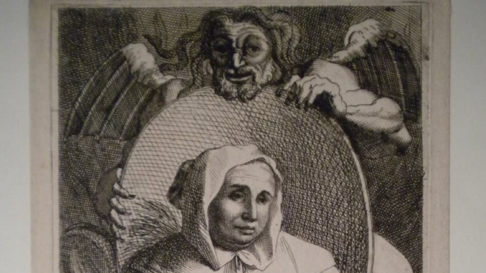 A 1680 illustration of La Voisin