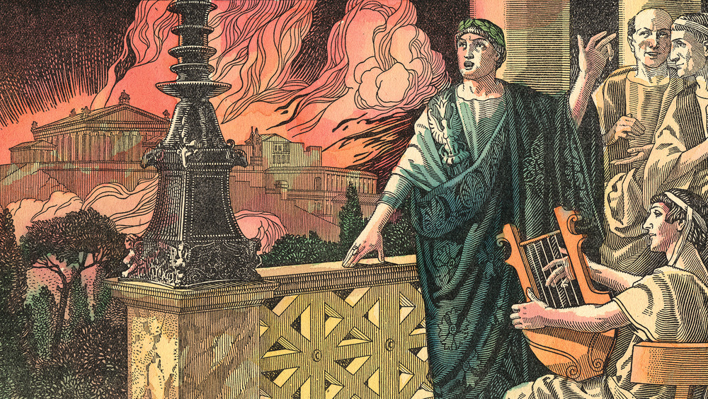 Nero while Rome burns